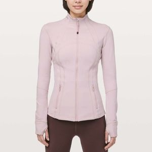 Lululemon Define Jacket — Porcelain Pink